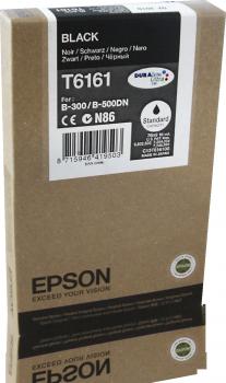 Original Epson Patrone T6161 B300 für STYLUS B 300 black