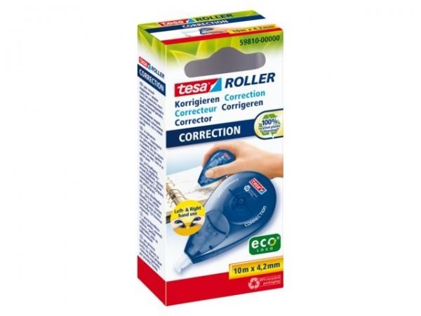 tesa Roller Korrigieren ecoLogo, Seitwärtsoller ( HFB ) 4,2mm