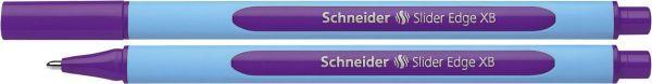 Schneider Kugelschreiber Slider Edge - Kappenmodell, XB, violett