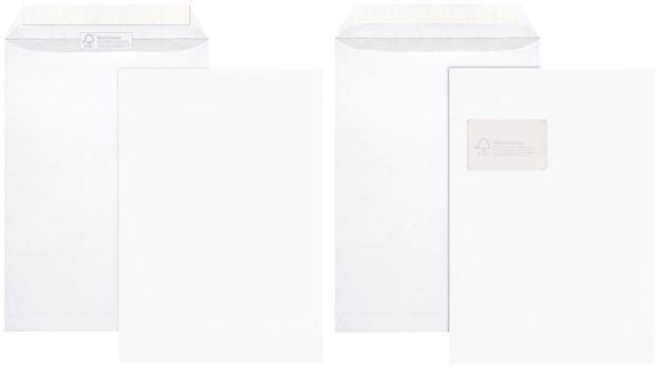 Elepa - rössler kuvert FSC® Versandtaschen, ohne Fenster, 100 g/qm, C4 (229x324 mm), 100 Stück