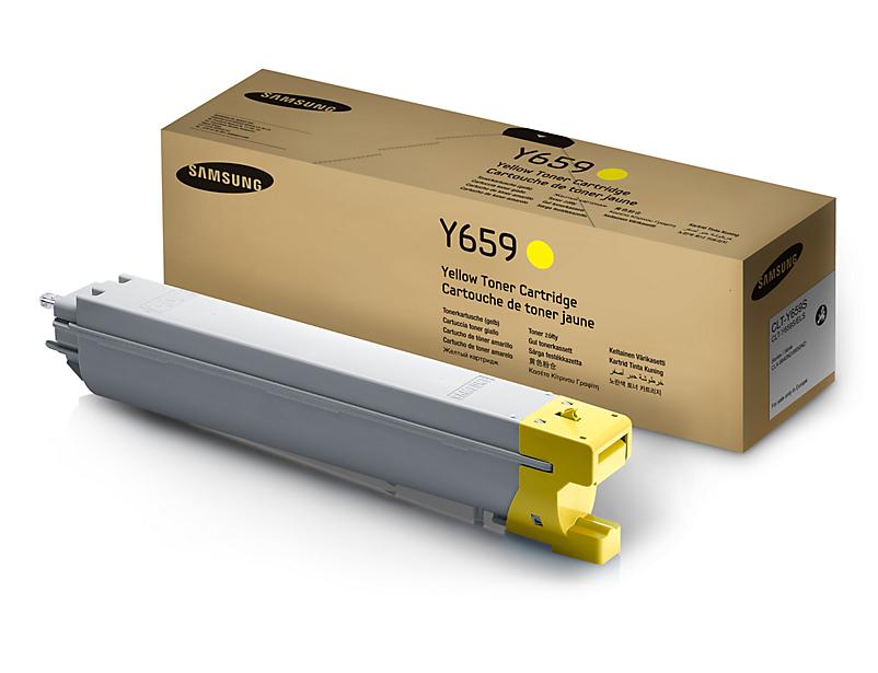 Original Toner Samsung CLT-Y659S / ELS für CLX-8640ND yellow