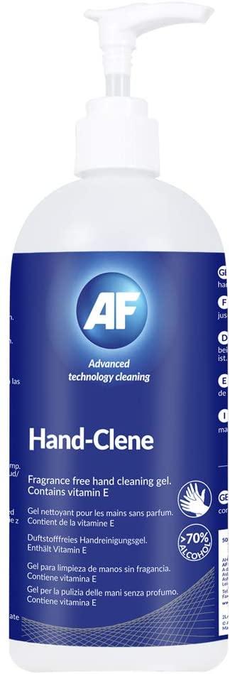 """AF AHSG500 Handreinigungsgel""""Hand-Clene"""", 500ml Pumpflasche"""
