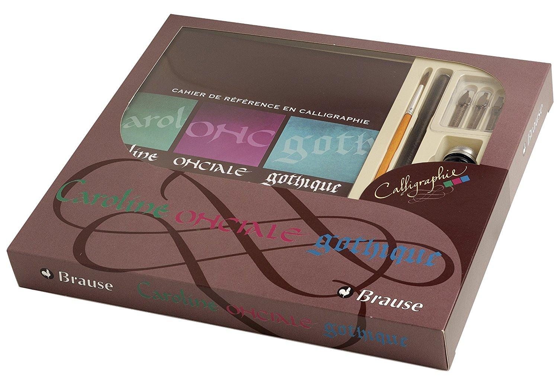 Brause Kalligraphie-Set Geschenkebox Grundausstattung für Kalligraphie (Ideal für Anfänger)