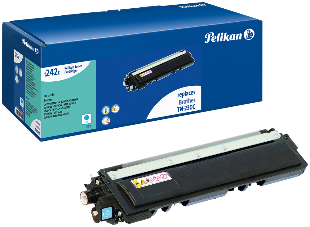 Pelikan Toner komp. zu TN-230 c Brother DCP-9010 cyan