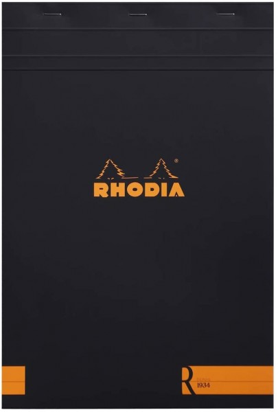 Rhodia 192012C Notizblock (kopfseitig geheftet, DIN A4, liniert, 22,5 x 29,7 cm, 70 Blatt) 1 Stück s