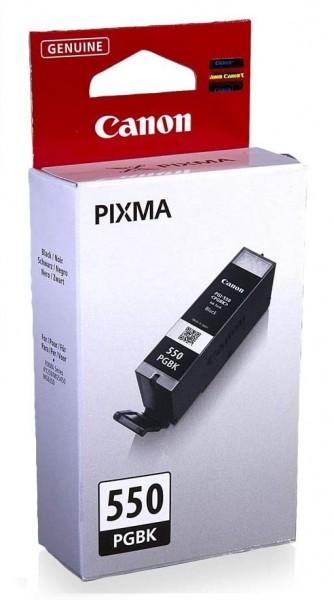 Canon PGI-550 PGBK Druckertinte - Pigment Schwarz - 15 ml für PIXMA Tintenstrahldrucker ORIGINAL