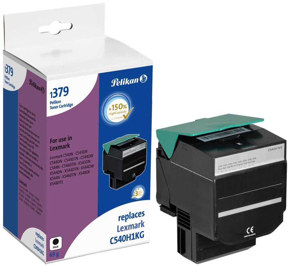 Pelikan Toner 1379TKb komp. zu C540H1KG Lexmark C540 N etc. black