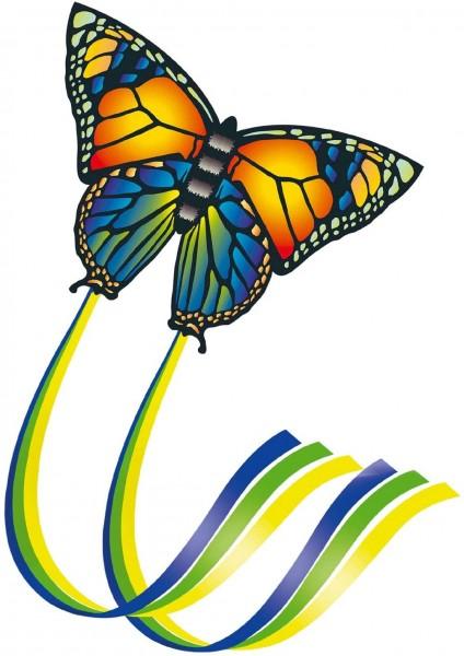 Paul Günther 1151 - Einleinerdrachen Butterfly, farbenprächtiger Drachen aus hochwertigem Polyester