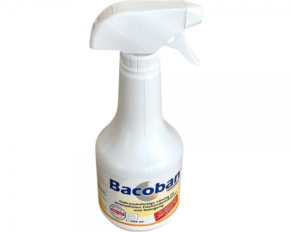 Bacoban gebrauchsfertige Lösung zur alkoholfreien Flächendesinfektion und Reinigung 500ml