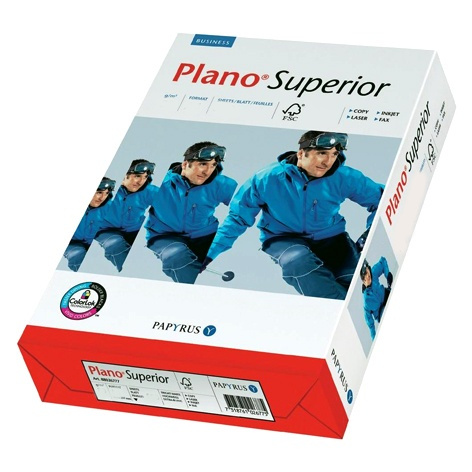 Plano Superior 80g/m² DIN-A3 - 500 Blatt Papier weiß