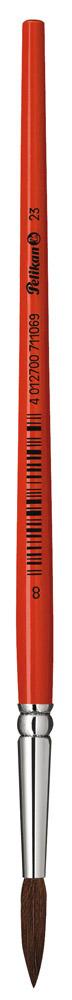 Pelikan Pinsel Sorte 23  aus Pony Haar Größe 5