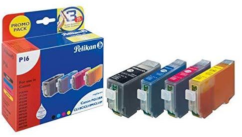 Pelikan Tintenpatrone ersetzt Canon 570XL/571XL 5C, B/B/C/M/Y,  Seiten