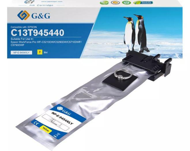 G&G Premium Tintenpatrone kompatibel zu Epson T9454 gelb