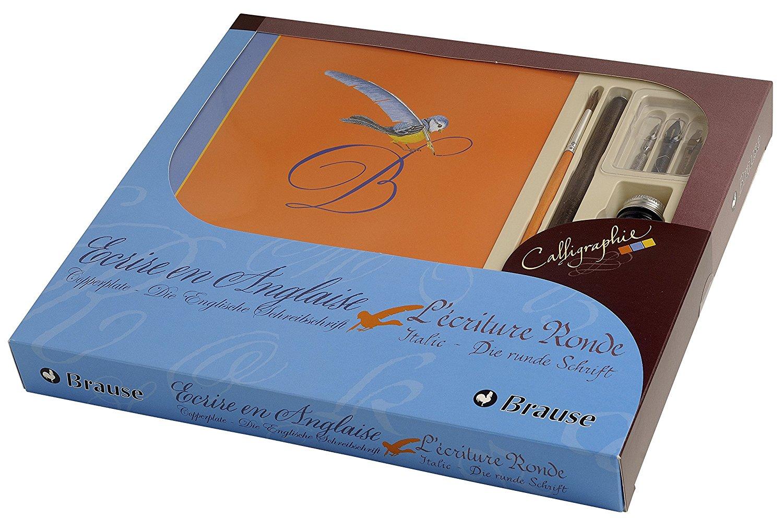 Brause Kalligraphie-Set Einstiegset Junior Grundausstattung für Kalligraphie (perfekt für die englis